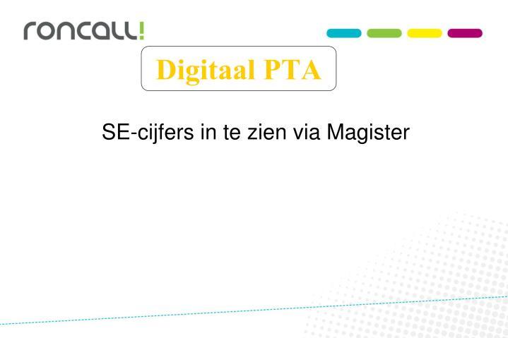 Digitaal PTA