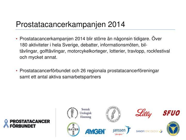 Prostatacancerkampanjen 2014