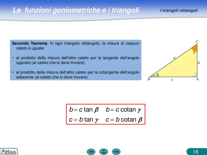 I triangoli rettangoli