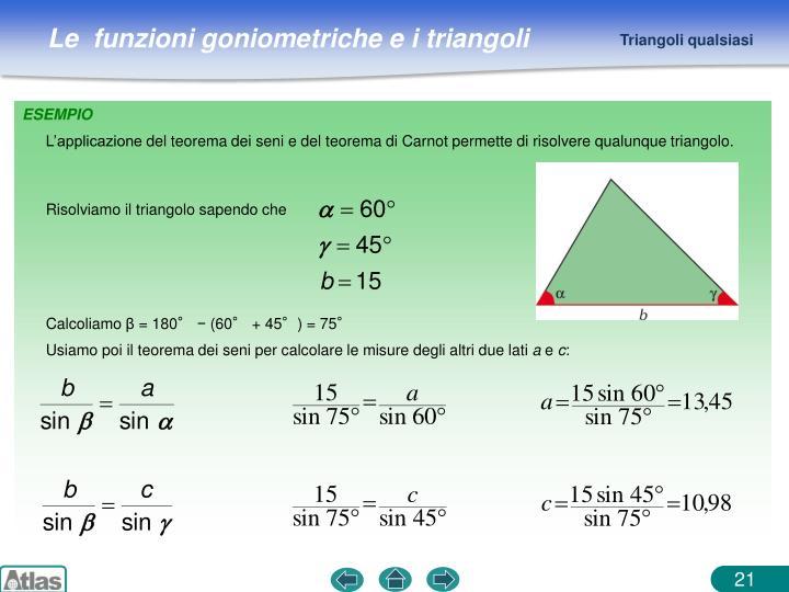 Triangoli qualsiasi