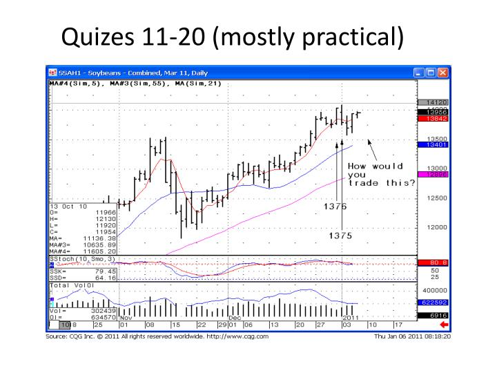 Quizes 11 20 mostly practical