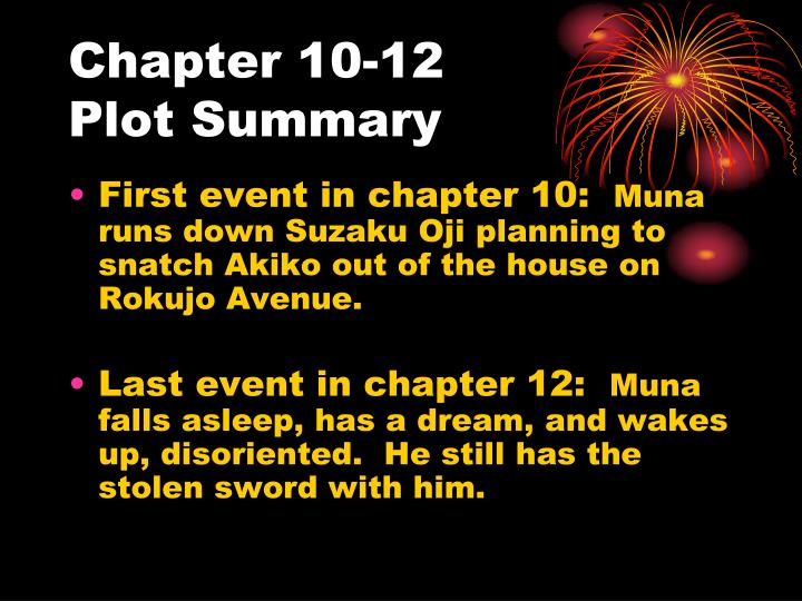 Chapter 10-12