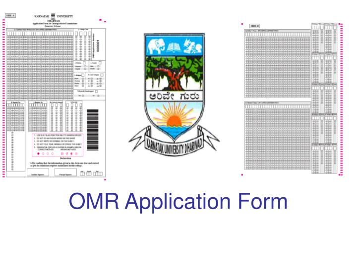 Omr application form