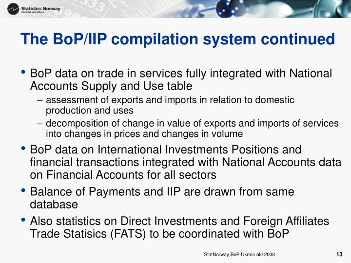 The BoP/IIP compilation system continued
