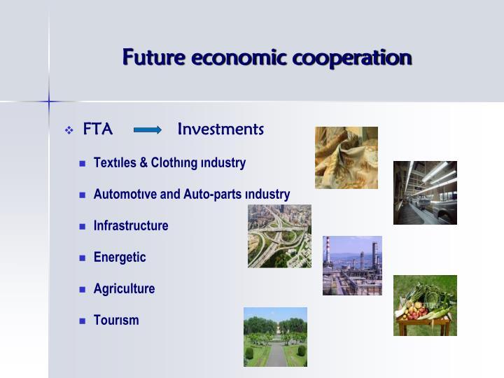 Future economic cooperation