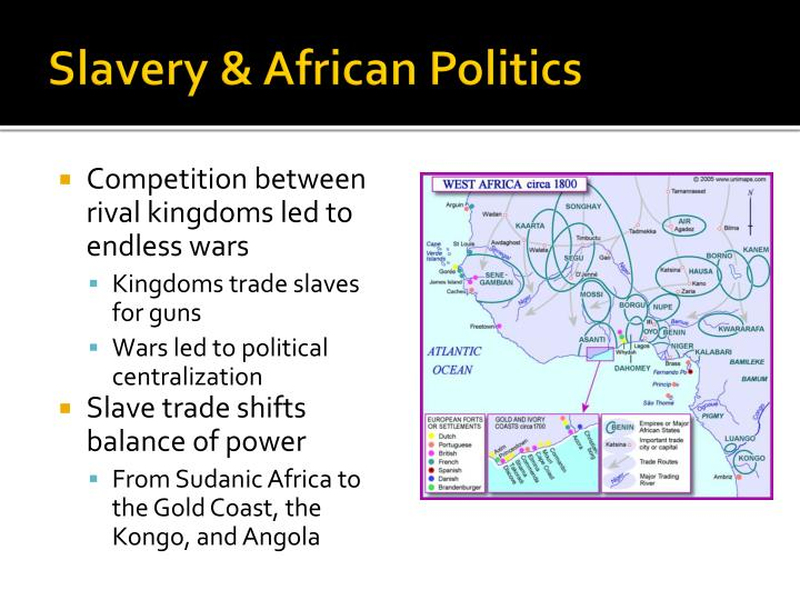 Slavery & African Politics