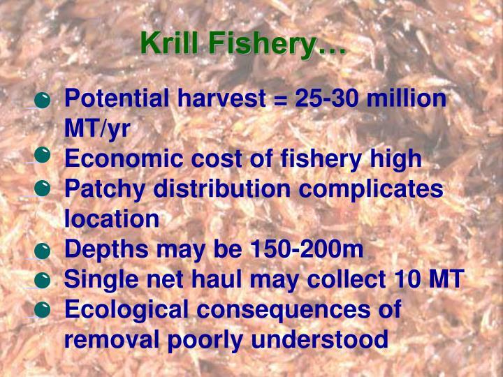 Krill Fishery…