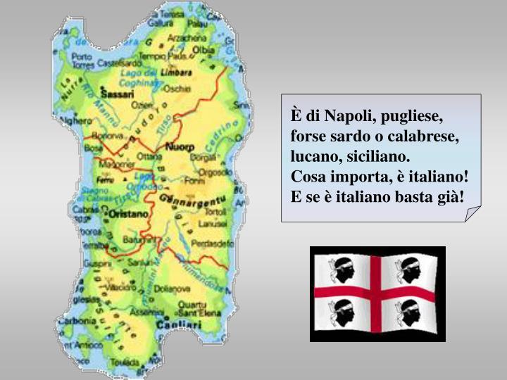 di Napoli, pugliese,