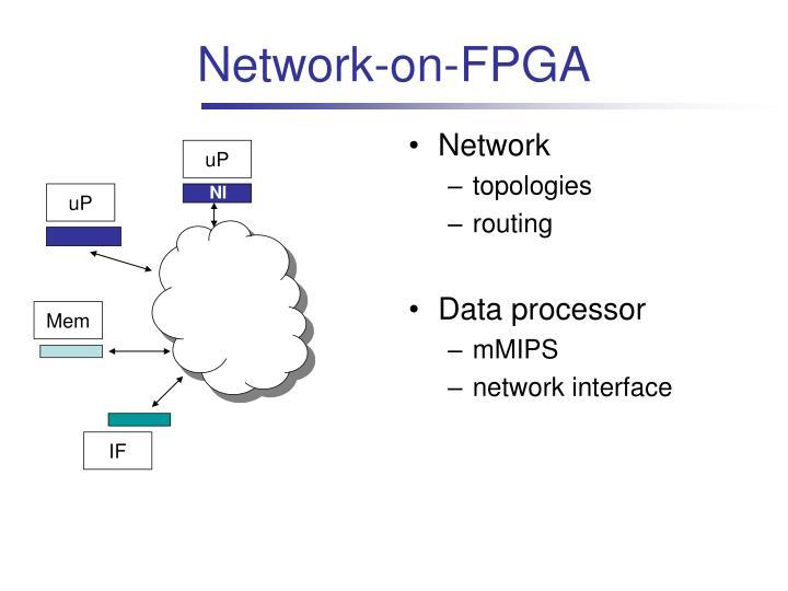 Network-on-FPGA