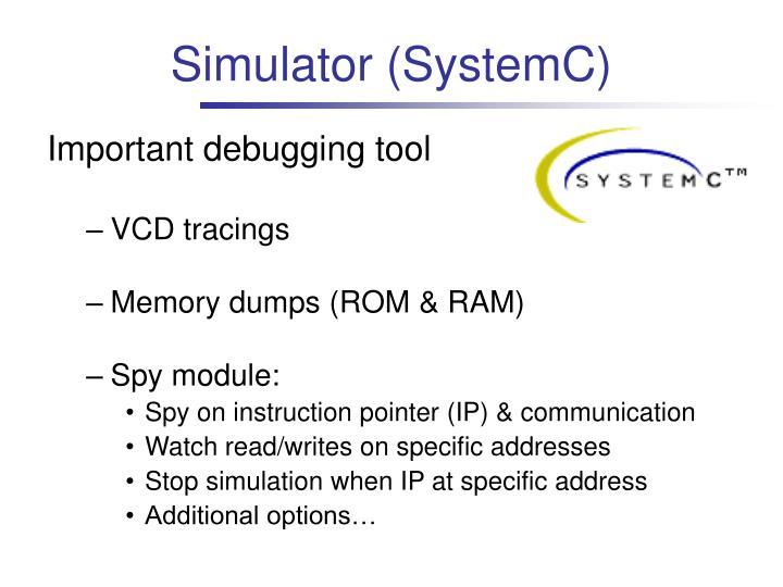Simulator (SystemC)