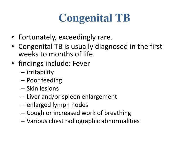 Congenital TB