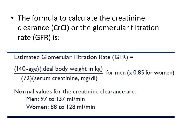 The formula to calculate