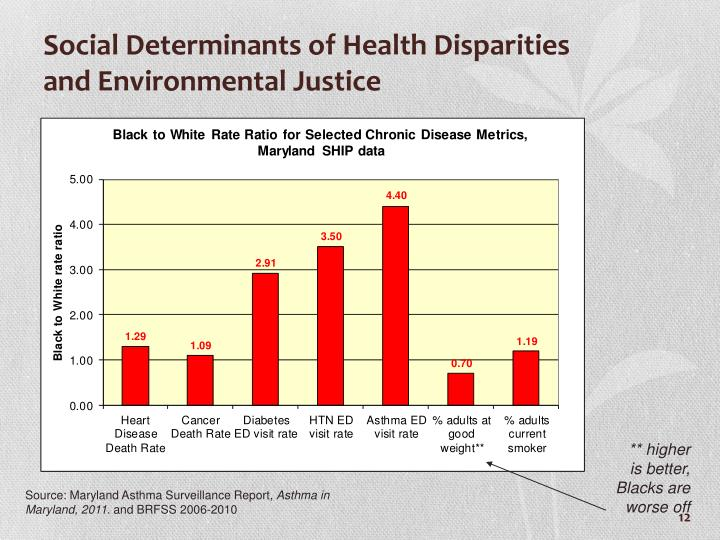 Social Determinants of Health Disparities