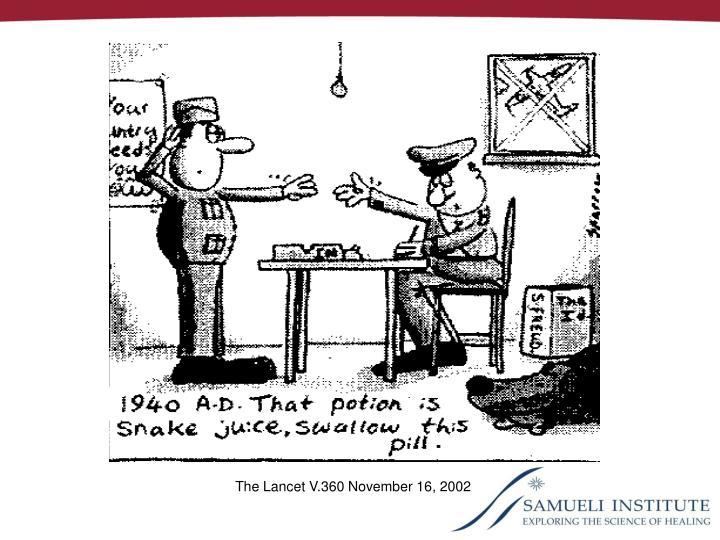 The Lancet V.360 November 16, 2002
