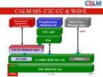 calm m5 c2c cc wave
