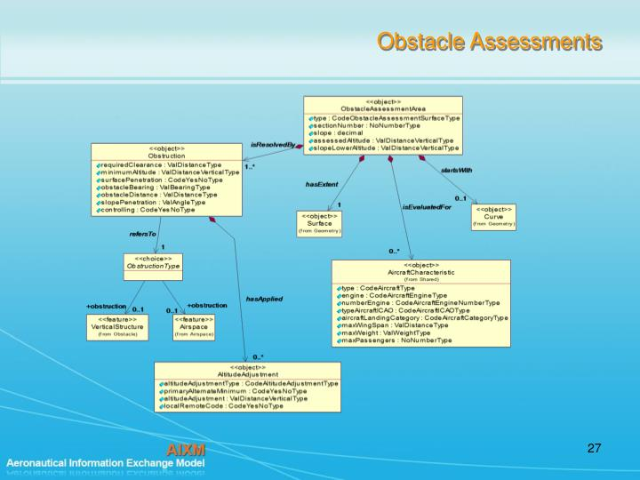 Obstacle Assessments