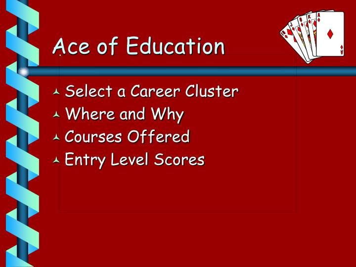 Ace of Education