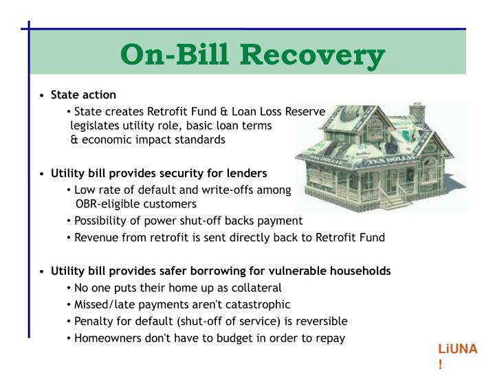 On-Bill Recovery