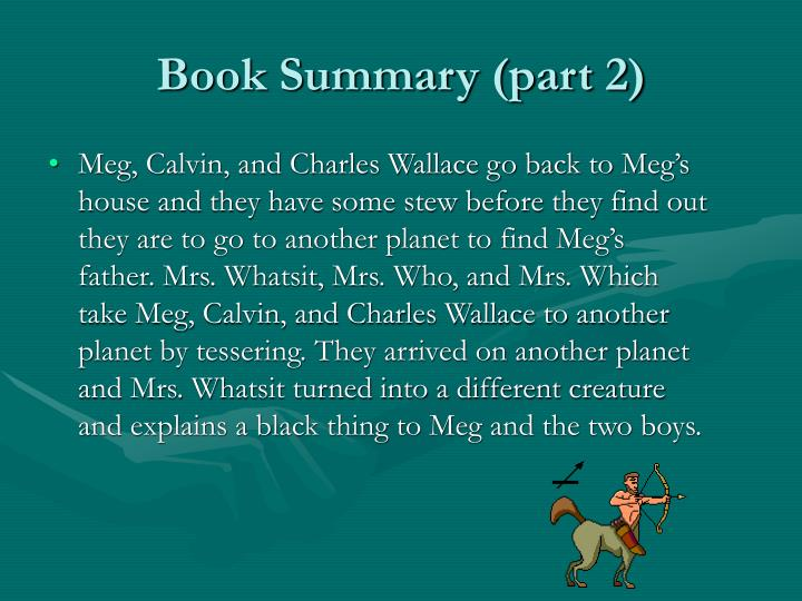 Book Summary (part 2)