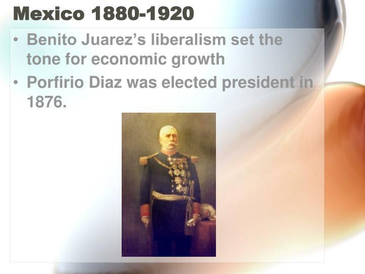 Mexico 1880-1920