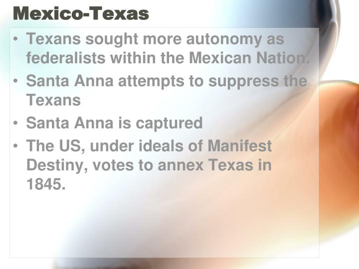 Mexico-Texas