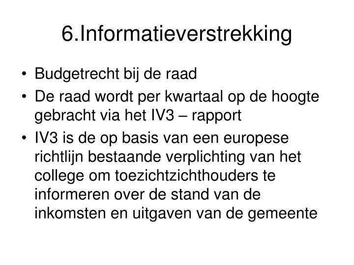 6.Informatieverstrekking