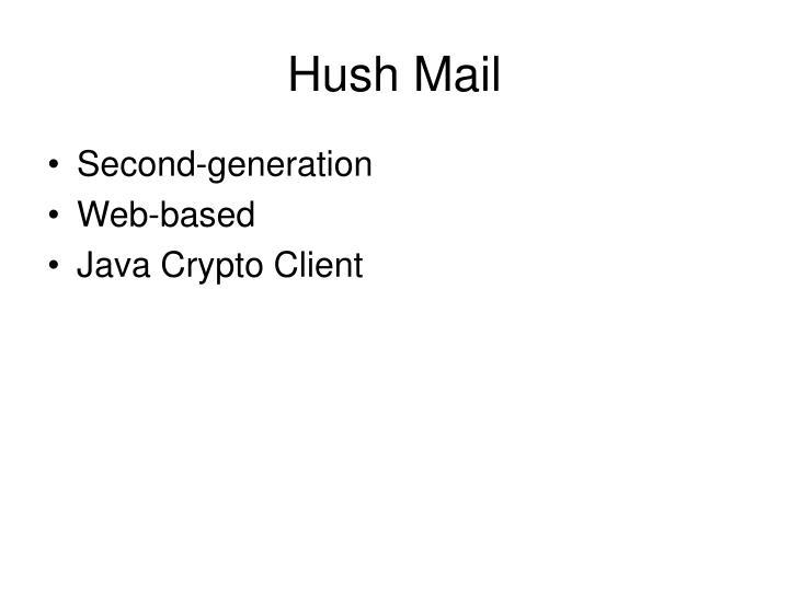 Hush Mail