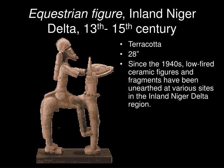 Equestrian figure