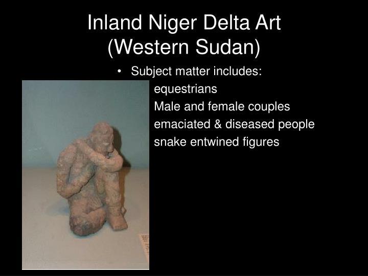 Inland Niger Delta Art