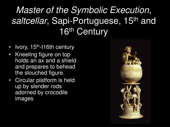 Master of the Symbolic Execution, saltcellar