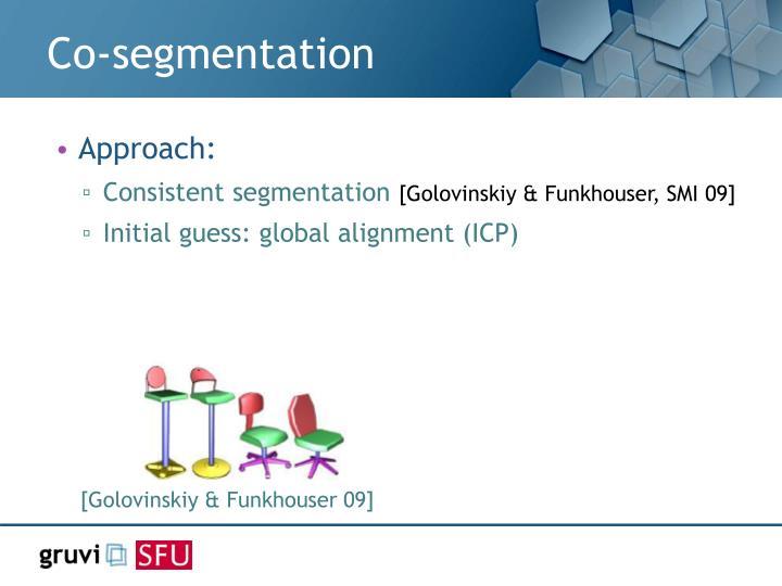 Co-segmentation