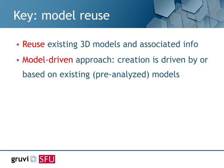 Key: model reuse