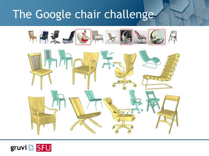 The Google chair challenge