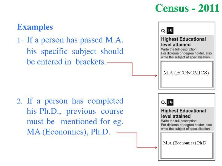 Census - 2011