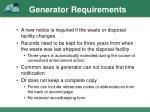 generator requirements2