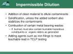 impermissible dilution