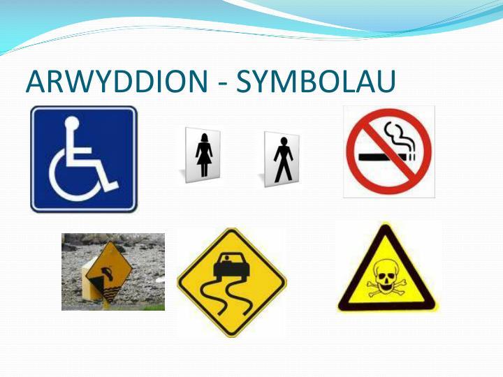 ARWYDDION - SYMBOLAU