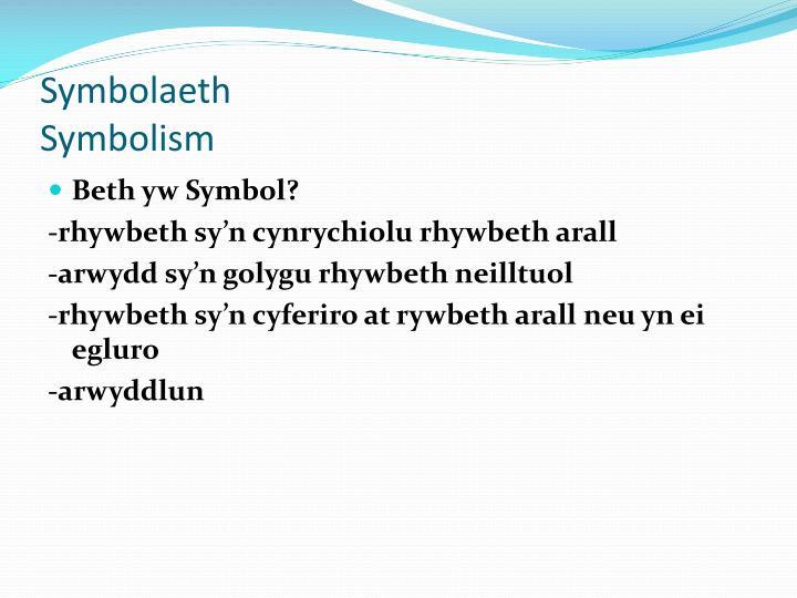 Symbolaeth