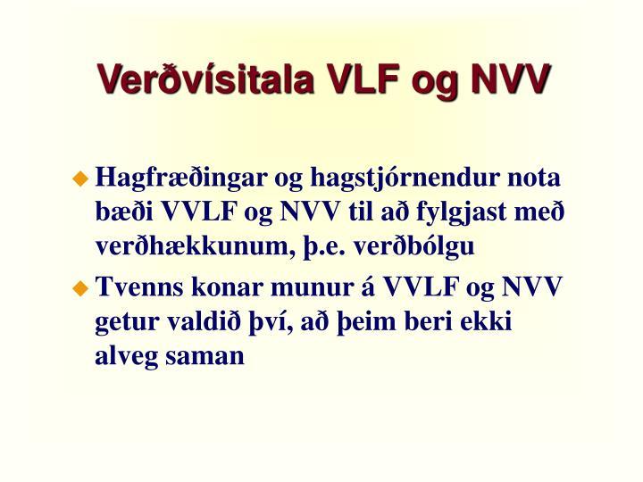 Verðvísitala VLF og NVV