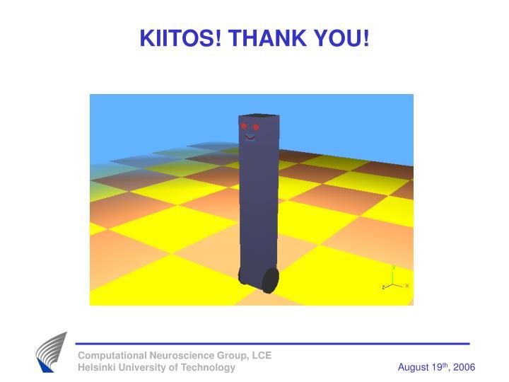 KIITOS! THANK YOU!
