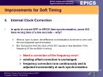 improvements for soft timing4