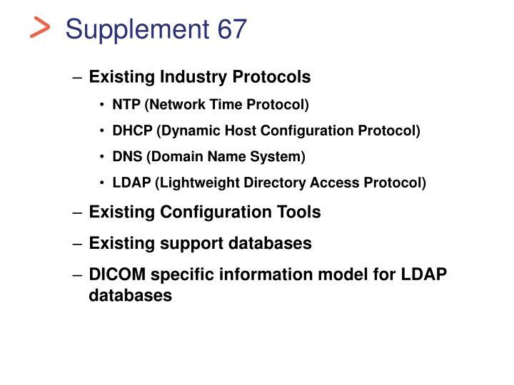 Supplement 67