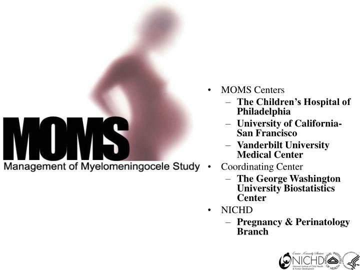 MOMS Centers