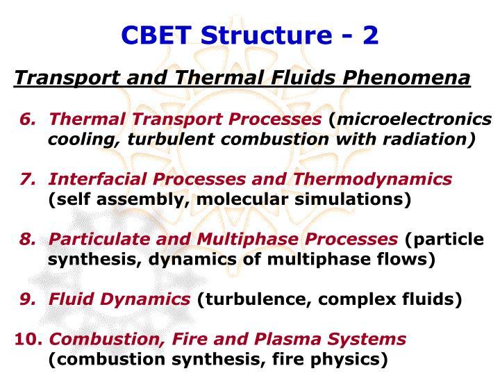 CBET Structure - 2