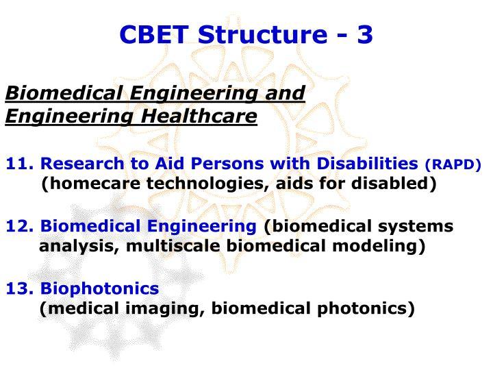 CBET Structure - 3