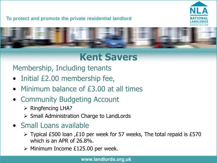Kent Savers