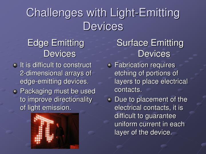 Edge Emitting Devices