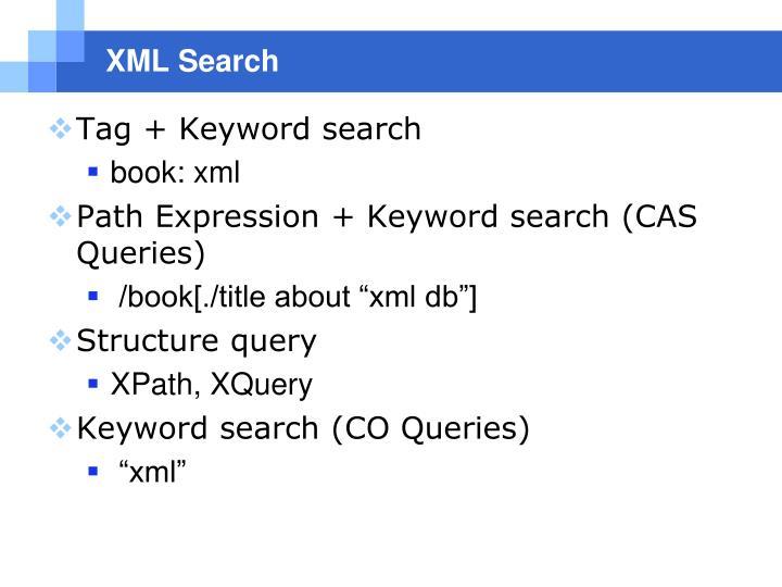 XML Search
