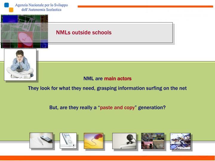 NMLs outside schools