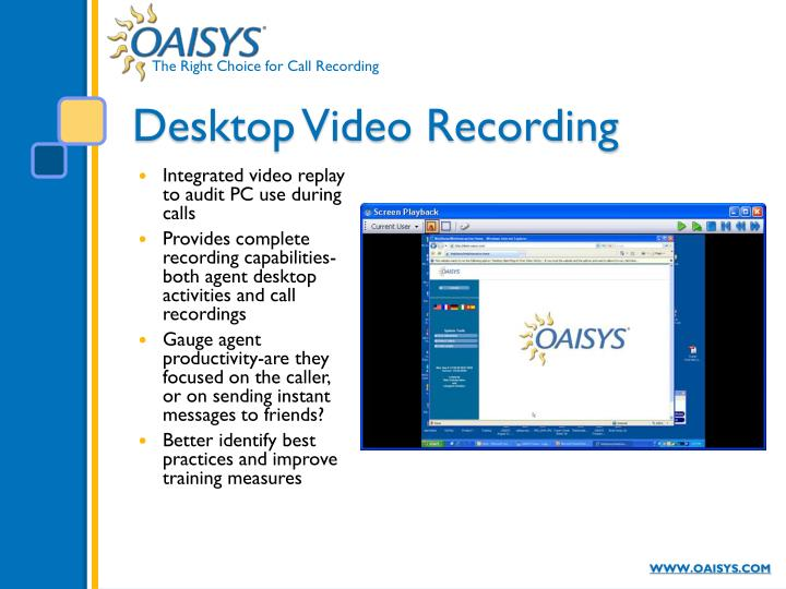 Desktop Video Recording